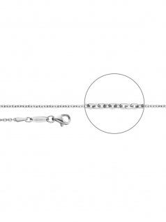 Der Kettenmacher B1-45S Brillant Kette Silber 45 cm