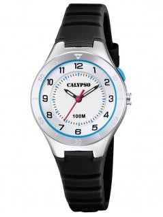 Calypso K5800/4 Uhr Junge Kinderuhr Kunststoff schwarz
