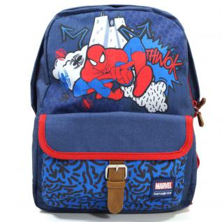 Samsonite Stylies Backpack S+ JR Marvel Spiderman Blau Rucksack Kinder