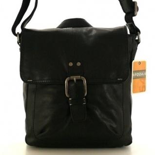 Fossil Decker Schwarz MBG1164-001 Umhängetasche, Messenger Bag Leder - Vorschau 1