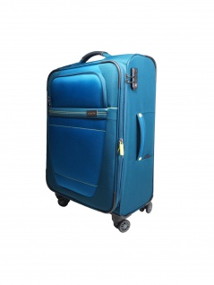 Travelite Trolley Meteor 4 Rollen Blau Koffer 66 cm Blau 89448-22 - Vorschau 2