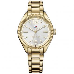 Tommy Hilfiger 1781520 CHRISSY Uhr Damenuhr Edelstahl gold
