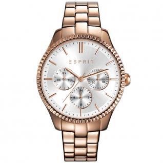 Esprit esprit-tp10894 rosé gold Uhr Damenuhr vergoldet Datum rosé