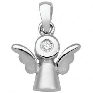 Basic Silber SKE35 Kinderschmuck Anhänger Kinder Schutzengel Silber