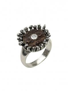 Gerry Eder 53.9072 Damen Ring Silber Weiß 57 (18.1)
