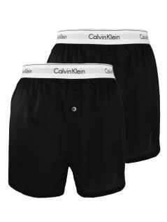 Calvin Klein Herren Boxershort 2er Pack Boxer Slim XL Schwarz NB1396A