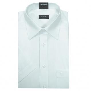 Eterna Herrenhemd Kurzarm Comfort Fit Weiß Gr. L/42