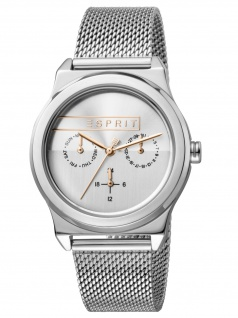 Esprit ES1L077M0045 Magnolia Multi Uhr Damenuhr Edelstahl Datum Silber
