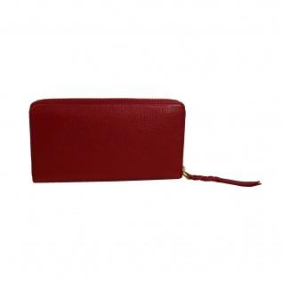 fef647cfd7ea0 Fossil Geldbörse Caroline RFID Zip Around Wallet Rot Damen Leder