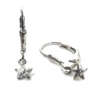 Basic Silber 02.KS131 Mädchen Ohrringe Seestern Silber