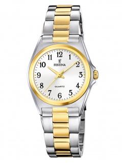 Festina F20556/1 Uhr Damenuhr Edelstahl bicolor