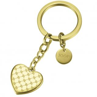 Joop JPZZ10136B000 Damen Schlüsselanhänger Herz Travel Key Affection