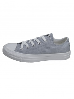 Converse Damen Schuhe CT All Star Ox Hellgrau Leinen Sneakers 37