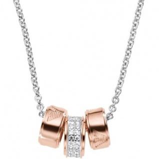 Emporio Armani EG3045 Damen Collier Sterling-Silber 925 Zirkonia 46 ... 48a028fbe8