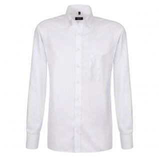 Eterna Herrenhemd Hemd Langarm Comfort Fit Weiß Gr XXL/45 4660/00/E194