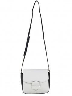Esprit Damen Handtasche Tasche Schultertasche Lara shoulderbag Weiß