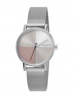 Esprit ES1L075M0065 Levels Uhr Damenuhr Edelstahl Silber
