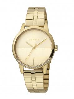 Esprit ES1L106M0075 Yen Uhr Damenuhr Edelstahl Gold
