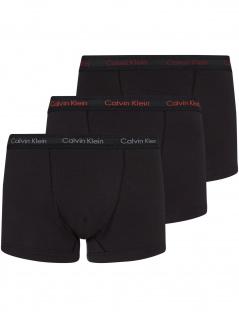 Calvin Klein Herren Unterwäsche 3er Pack Trunk
