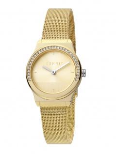 Esprit ES1L091M0055 Magnolia Mini Stones Uhr Damenuhr Edelstahl Gold