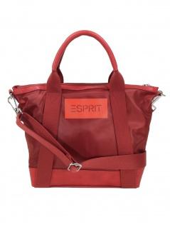 Esprit Damen Handtasche Tasche Annie City Bag Rot 010EA1O329-630