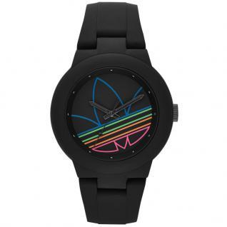 Adidas ADH3014 ABERDEEN Uhr Damenuhr Kautschuk schwarz