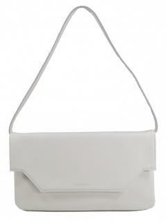 Esprit Damen Clutch Tasche Handtasche Darlene Baguette Weiß