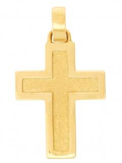 Gerry Eder 27.0013 Anhänger Kreuz 14 Karat (585) Gelbgold Gold
