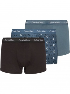 Calvin Klein Herren Unterwäsche 3er Pack Low Rise Trunk