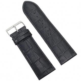 Condor Uhrenband 19183-28-10 Ersatzarmband 28 mm Louisiana schwarz
