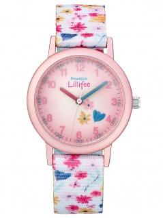 Prinzessin Lillifee 2031758 Blume Uhr Mädchen Kinderuhr Stoffband
