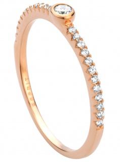 Esprit ESRG00831217 Damen Ring Blaze Silber Rose weiß 53 (16.9)