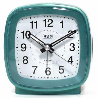 W&S Wecker 201352-blau leise Sekunde