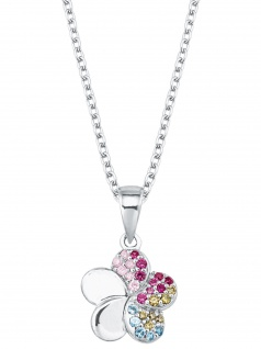 Prinzessin Lillifee 2027896 Mädchen Collier Blume Silber bunt 38 cm
