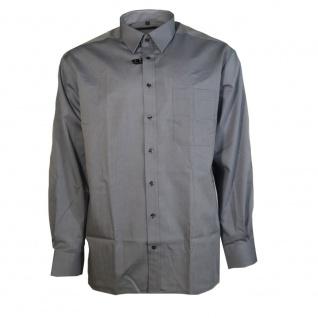 Eterna Herrenhemd Langarm Modern Fit Hellgrau Gr. L/41 8500/32/X157