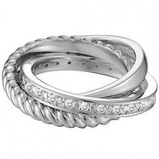 Esprit ESRG91314A Damen Ring Silber trylogy Zirkonia weiß Gr.50 (16 )