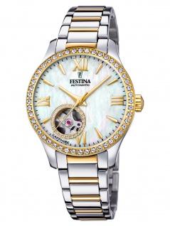 Festina F20486/3 Uhr Damenuhr Edelstahl bicolor