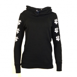 G-Star Damen Pullover Kapuze Pulli Menya Hooded Sweater Schwarz Gr. S