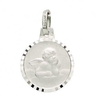 Basic Silber 22.206 Kinder Anhänger Schutzengel Silber
