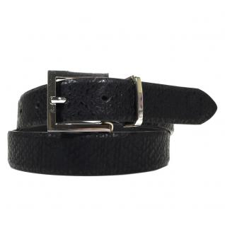 Pieces Damengürtel Gürtel 17063377 JOYA Jeans Belt Schwarz 90 cm