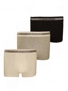 Calvin Klein Herren Boxershort 3er Pack Trunk XL Mehrfarbig NB1799A