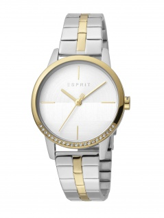 Esprit ES1L106M0095 Yen Uhr Damenuhr Edelstahl bicolor