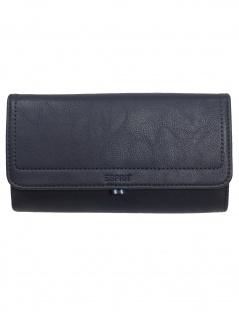 Esprit Damen Geldbörse Portemonnaies Ally Flat Clutch Blau 010EA1V303