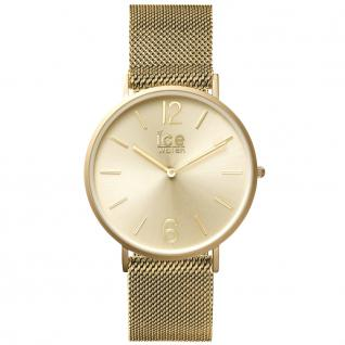 Ice-Watch 012704 CITY milanese gold matt medium Uhr Damenuhr gold