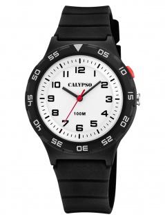 Calypso K5797/4 Uhr Junge Kinderuhr Kunststoff schwarz