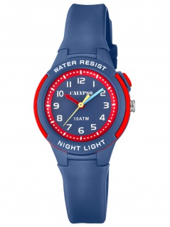 Calypso K6069/5 Uhr Junge Kinderuhr Kunststoff blau