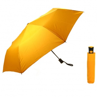 Flash MINI AC Flash solid Gelb Regenschirm Taschenschirm