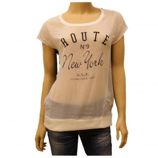 Only Damen T-Shirt Kurzarm 15096508 NEW DAWNY Long S/S Top Blau Gr. S