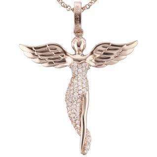 Engelsrufer ERP-ANGEL-R Damen Anhänger Engel Sterling-Silber 925 weiß