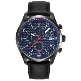 Esprit ES108391004 esprit-tp10839 black Uhr Leder Chrono Datum schwarz